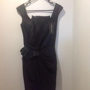 Karen Millen Cocktail Black Evening Dress